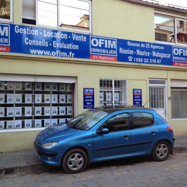 Location de locaux commerciaux et bureaux à Tananarive
