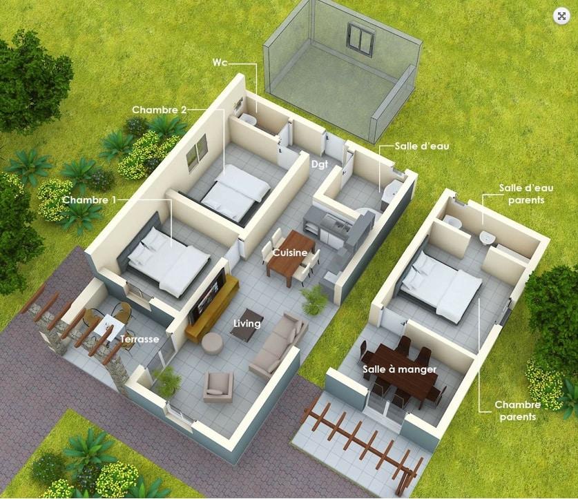 Madagascar acheter une maison cl en main ou construire for Achat maison madagascar
